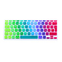 SoliconeKeyboard Cover For11.6'' / 13.3 '' / 15.4'' Macbook Pro met Retina / MacBook Pro / Macbook Air met Retina / MacBook Air