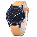 Men's Simple Fashion Design PU Leather Strap Quartz Wrist Watch