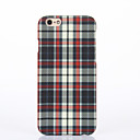 Back Cover Pattern Square Pattern PC Hard Case Cover For Apple iPhone 6 6 Plus iPhone 5