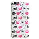 Rückseite IMD / Muster Katze TPU Weich Fall-Abdeckung für Apple iPhone 6s Plus/6 Plus / iPhone 6s/6 / iPhone SE/5s/5