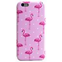 lange Beine Flamingos Muster imd Technologie Telefonkasten tpu Material für iphone 6s 6 Plus
