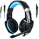 High Precision PS4 Gaming Headset PC Computer Headphone Stereo Earpones/LED Light Headphones With Adjustable Microphone 40mm Driver 3.5mm Plug