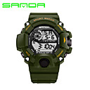SANDA Men's Smart Watch Sport Military Style Waterproof Sport Japanese Quartz Watches Shock Men's Relogio Digital Watch