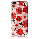 Fall für Apfel iphone 7 plus 7 Telefon Fall tpu Material imd Prozess Blumen Muster hd Flash Pulver Telefon Fall 6s plus 6 plus 6s 6 5s 5