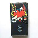 Fall für Samsung Galaxy Grand Prime Core Prime Case Cover Kartenhalter Brieftasche mit Stand Flip Muster Ganzkörper Fall Herz hart PU