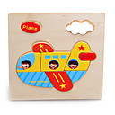 Jigsaw Puzzles Jigsaw Puzzle Building Blocks DIY Toys Aircraft Wooden