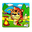 Jigsaw Puzzles Jigsaw Puzzle Building Blocks DIY Toys Other Flower Wooden