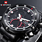 NAVIFORCE® Men's Military Sport Watch Japanese Quartz Analog-Digital LED/Calendar/Chronograph/Water Resistant/Dual Time Zones/Alarm Cool Watch