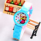 Kids' Cartoon Pattern Round Dial Silicone Band Fashion Quartz Watch (Random Color) Cool Watches Unique Watches