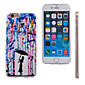 Umbrella Pattern Slim Transparent TPU Material Soft Phone Case for iPhone 5/5S