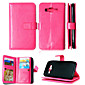 Wallet Holders+Cash Slot+Photo Frame Magnetic Leather Phone Case for Samsung Galaxy J1/J5/Grand Prime G530