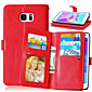 High quality PU leather wallet mobile phone holster Case For Galaxy Note 5/Note 4/Note 3(Assorted Color)