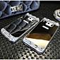 hochwertigen galvani gespiegelt mit Diamant-rückseitige Abdeckung für Samsung-Galaxie Hinweis4 / Hinweis5 (verschiedene Farben)