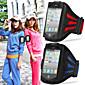 copertura esercizio palestra con regolare allenamento tappeto scorrevole fascia da braccio sportiva per iPhone 5 / 5s / 5c (colori