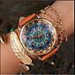 Paisley Watch, Vintage Style Leather Watch, Women Watches Fashion Boyfriend Watch Gift Boteh Hippie Revolution Cool Watches Unique Watches