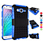 For Samsung Galaxy Case Shockproof / with Stand Case Back Cover Case Armor PC Samsung J7 / J5 / J1 / E7 / E5